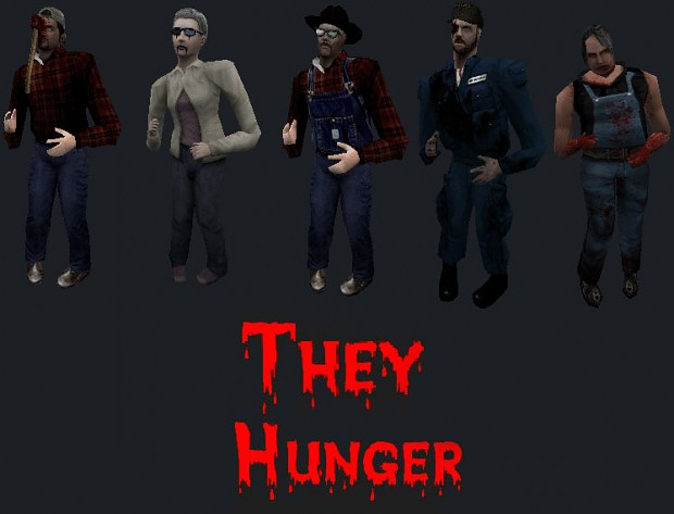 They Hunger zombie3 pack