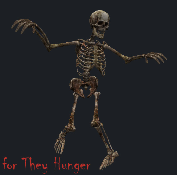 skeleton for They Hunber - HoE anims