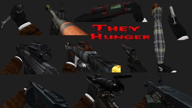 They Hunger weapon pack