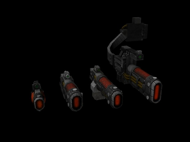 Volkite Weapon Set