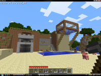 My minecraft house without using a texture pack