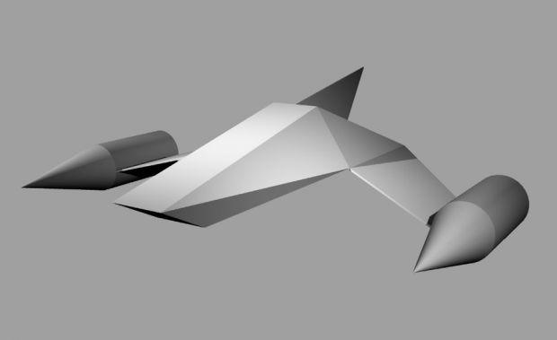 SF-17 Wildcat fleet defense fighter