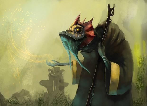 Shaman frog