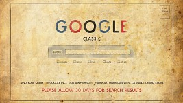 Google Old School 1920 x 1080