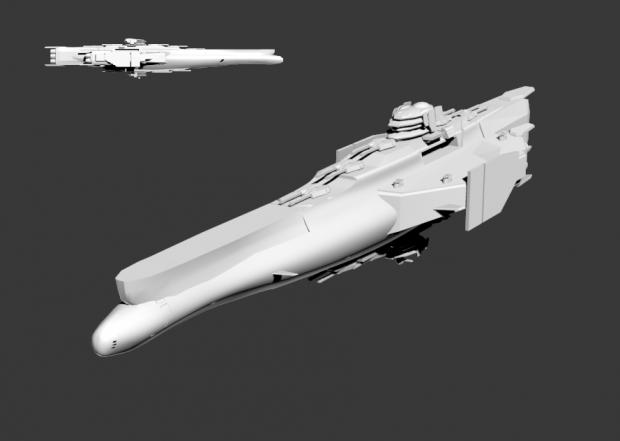 Yamato class battleship image genocyber mod db - Yamato render ...