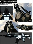 Crysis 2 SCAR for Battlefield 2 (crysis 2 skin)