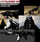 Crysis 3 reskin of Crysis 2 SCAR(in Battlefield 2)