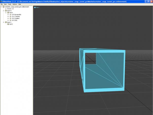 Container mesh hack open