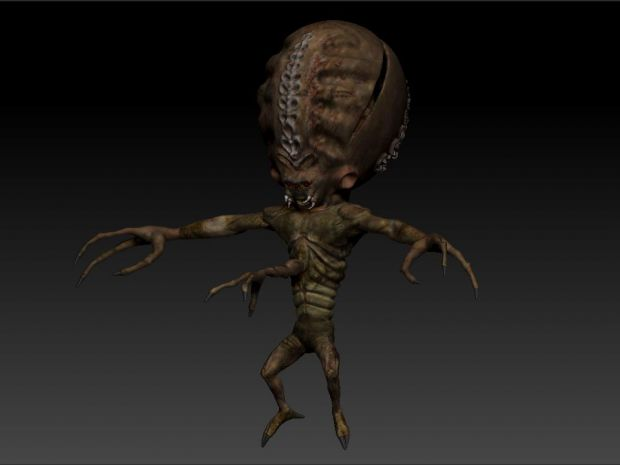 alien controller texturing