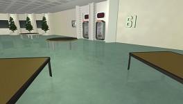 Floor 61 reflective floor
