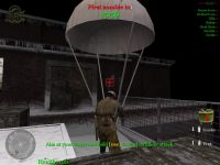 First parachute in CoD2 ;)