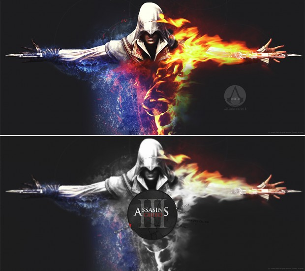 Assasin on FIRE....lol