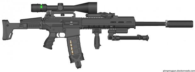 Random AR15-style Rifle - My first