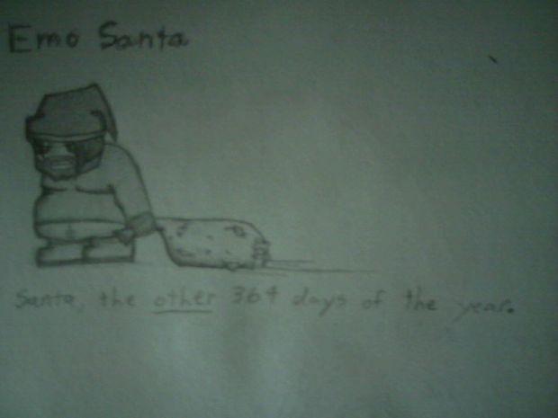 Emo Santa