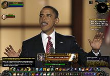 obama in wow