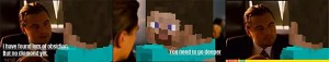 detectiv trying to ask the minecraft guy XD