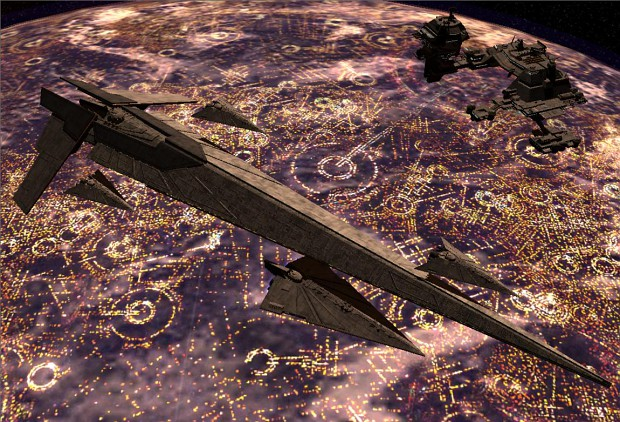 Nemesis Star Destroyer with Escorts