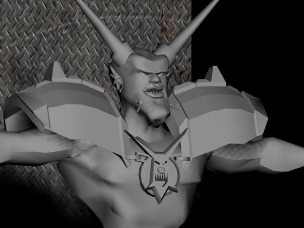 Horn Reeper untextered oblivion rigged