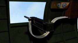 B-17F Waist-gun interior