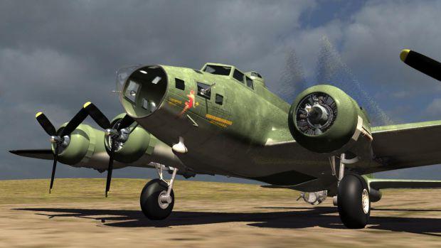 WIP B-17F Memphis Belle