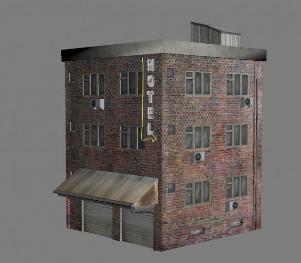 Building Textured WIP