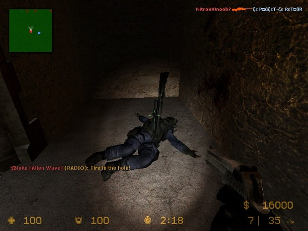 Me against the sniper-dude