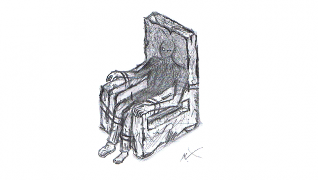 Dark Chair