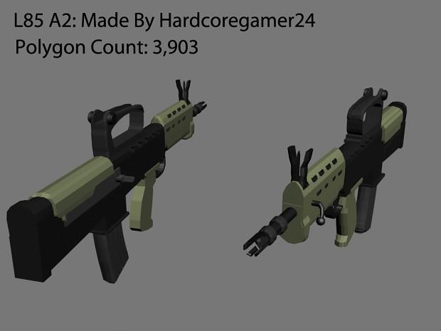 L85 A2 assault rifle