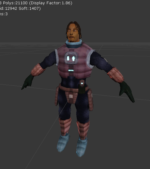Spryte Character: Murrek