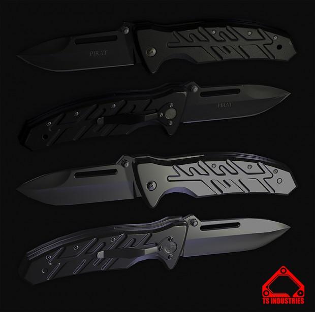 Casual pocket knife