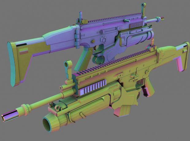 FN-SCAR MK 16