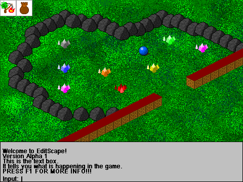 Old RPG Screen
