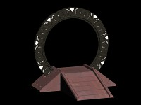 Stargate Render with ramp