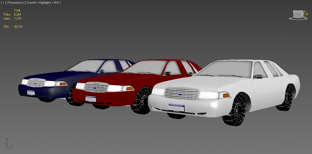 Ford Crown Victoria Community Map Prop WIP