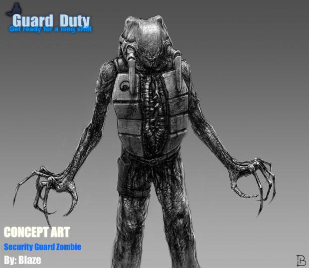 Guard Duty - Security Guard Zombie