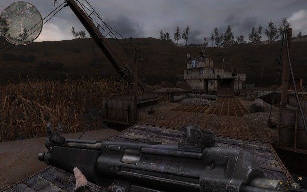 Call of Pripyat with Misery mod