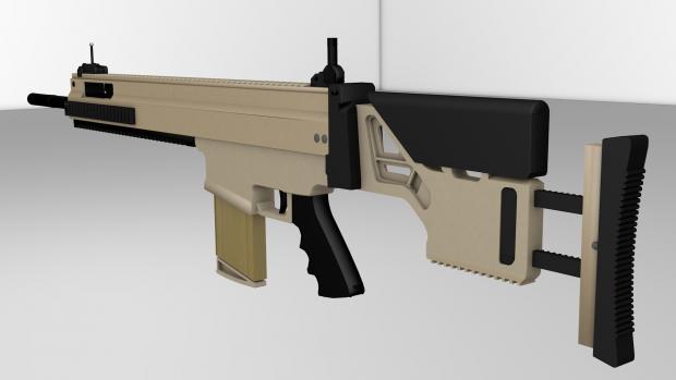 FN MK20 Back