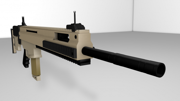 FN MK20 Front