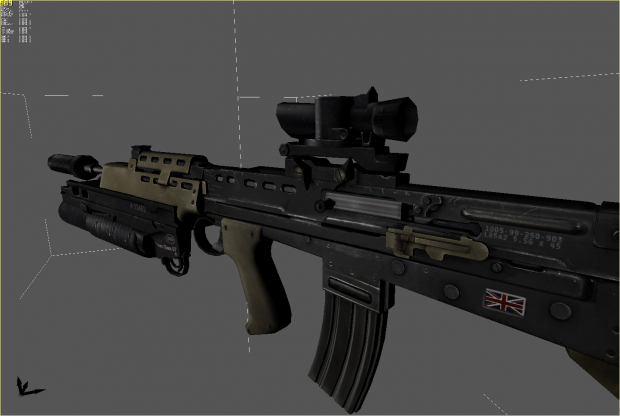 Newest L85a2 render
