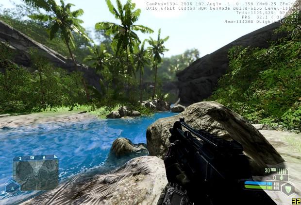 New Crysis Island mod