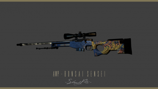 CSGO Project: AWP - Bonsai Sensei™