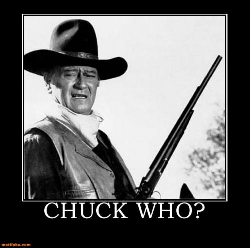 Chuck Who?