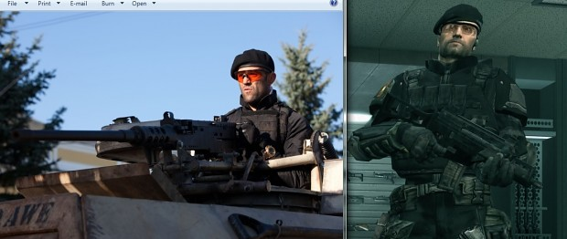 Lee Christmas (Jason Statham) In RSV2