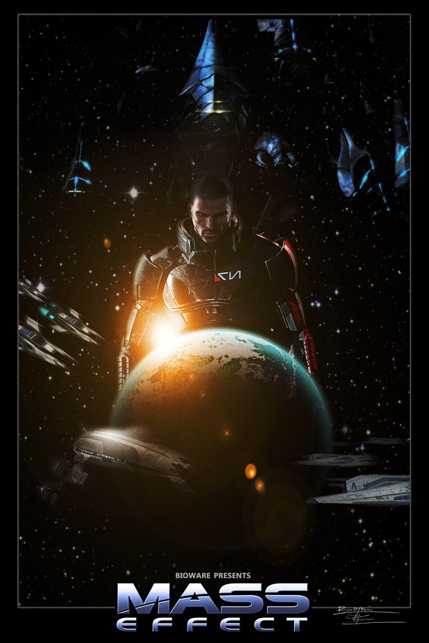 Mass Effect Film Poster