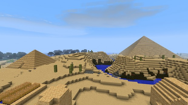 Matt's Minecraft Pyramids