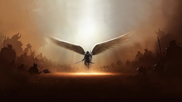 Medieval Angel Warrior