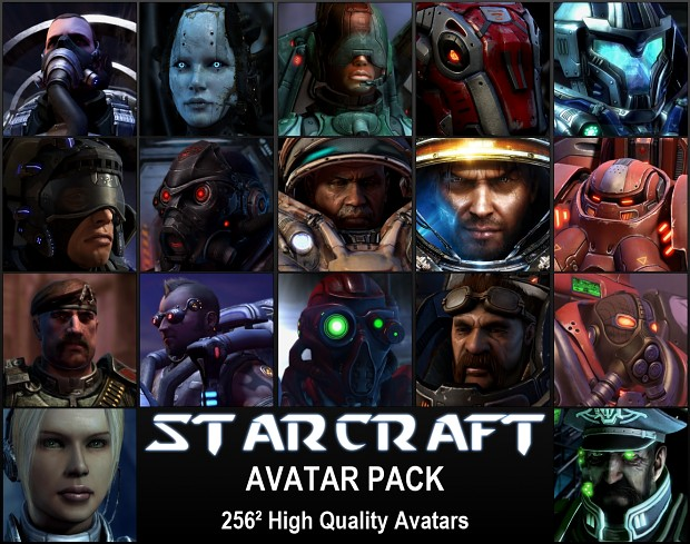 Starcraft Avatar Pack