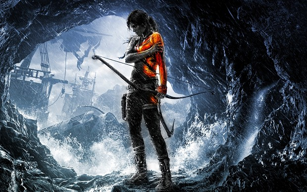 BF3 Style Tomb Raider Wallpaper