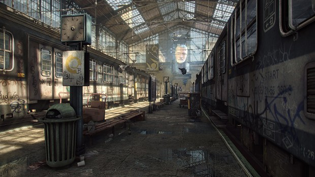 C-17 Trainstation in Unreal Engine