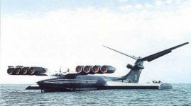 Caspian Sea Monster.